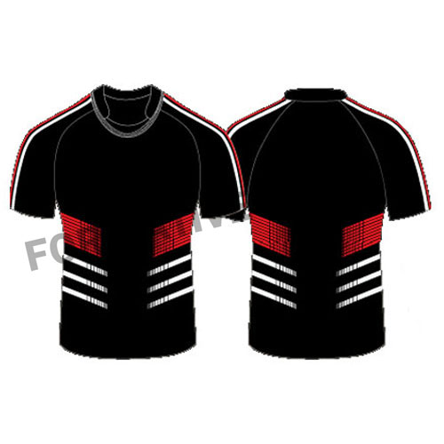 sublimated rugby team jersey